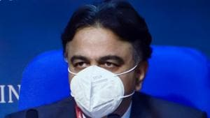 Drugs Controller General of India (DCGI) Dr V G Somani addresses a press conference to announce the approval of Oxford Covid-19 vaccine Covishield, manufactured by the Serum Institute, and indigenously developed Covaxin of Bharat Biotech for restricted emergency use in the country, in New Delhi.(PTI)