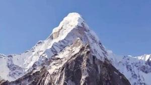 Mount Everest.(HT file)