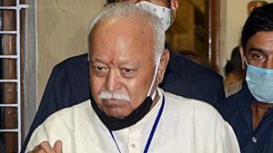 RSS chief Mohan Bhagwat.(ANI)