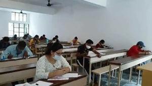 CLAT examination 2021.(ANI file)