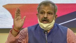 Delhi BJP chief Adesh Gupta said the strike in civic bodies is the result of a lack of political intent in the state government.(PTI)
