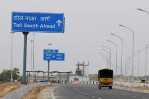 The Kundli-Ghaziabad-Palwal Expressway along with the KMP(Kundali Manesar Palwal) Expressway (above) will form a ring road around Delhi which heavy trucks and other vehicles can use to bypass Delhi.