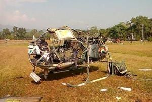 Army helicopter crashes near Sukna in West Bengal, 3 officers dead