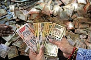 The central bank probably sold over $500 million that day to steady the sliding rupee.