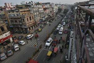 Coming: Food plaza, walkways and more at Old Delhi's Netaji Subhash Marg