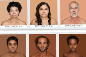 A photo catalogue is highlighting colour politics one skin tone at a time