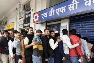 People skip work to withdraw salaries