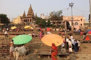 Morning at Assi Ghat, Varanasi