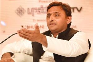 Akhilesh types a mystery: Who is this 'typewriter'?