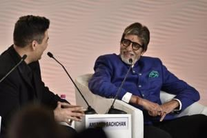 I feel awkward when the average age on sets is 25 and I'm 74: Amitabh...