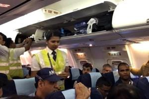 Flight to Bhopal held up at Mumbai for two hours to accommodate...