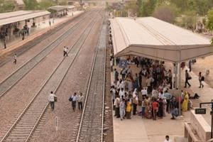 UP: Five die after being hit by train while crossing tracks