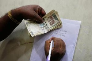 Maharashtra EC seizes Rs 6.9 crore in scrapped notes belonging to...
