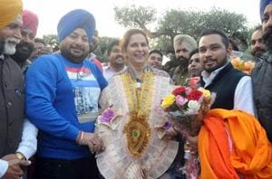 New to Cong, but Dr Sidhu already in campaign mode, 'party will...