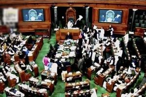 Winter session: Opposition protests force Lok Sabha to adjourn for the...
