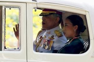 Thailand's new king makes first public appearance