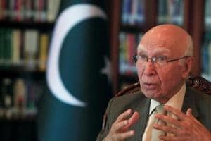 Sartaj Aziz arrives in Amritsar for Heart of Asia conference