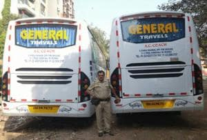 Andheri RTO seizes 3 luxury buses with same number