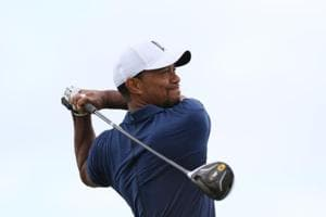 Tiger Woods finding rhythm at Hero World Challenge slowly but surely