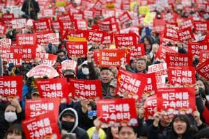 South Koreans protest, demand ouster and arrest of president
