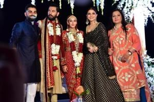Watch | Virat Kohli, Anushka dance at Yuvraj Singh-Hazel Keech's...