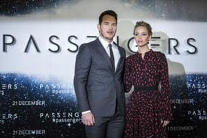 Pause your life and look at Chris Pratt and J-Law's pretty faces