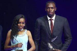 Usain Bolt wins his sixth IAAF male athlete of the year award