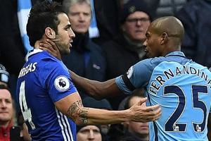 Manchester City see red in 3-1 defeat to Chelsea