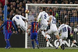 Sergio Ramos strikes in 90th as Real Madrid draws 1-1 at Barcelona in...