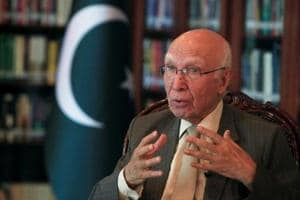 Sartaj Aziz to arrive in Amritsar today as Heart of Asia kicks off