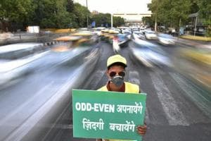 Need a month to prepare for re-introducing odd-even scheme: Delhi govt...