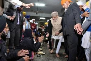 PM Modi, Afghan president Ghani at Golden Temple