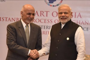 Heart of Asia meet: Modi, Ghani hold bilateral talks; focus on trade,...