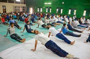 14-hr duty, where's time for yoga: Cops