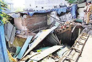 Satyam lodge demolition: 4 held, including 2 owners