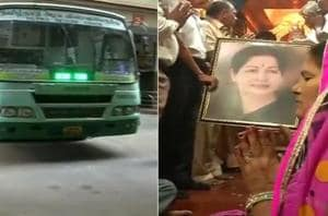 Ever since the news of Tamil Nadu Chief Minister J.Jayalalithaa's...