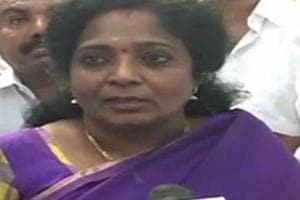 Bharatiya Janata Party state chief, Tamilisai Soundararajan visited...