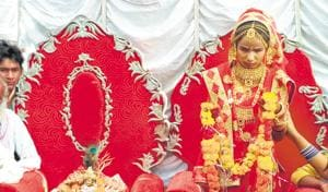 Visually challenged girl 'marries' Lord Krishna in MP's Tikamgarh dist...
