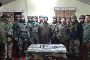 Hizbul Mujahideen militant arrested in Kashmir, two grenades recovered