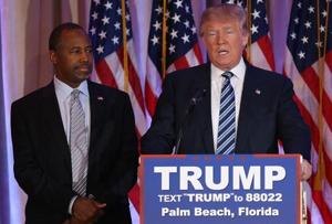 Trump taps former rival Carson as housing secretary, state awaited