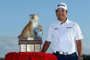 Hideki Matsuyama wins Hero World Challenge, Tiger Woods finishes 15th