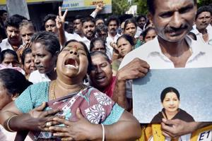 'Always there for Amma': Supporters outside hospital as Jaya remains...