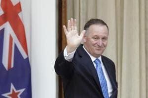 New Zealand Prime Minister John Key announces shock resignation