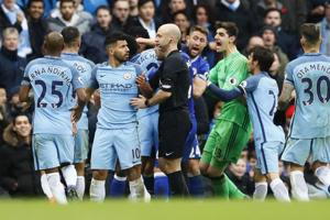 Manchester City striker Sergio Aguero gets four-match ban for violent...