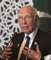 India's bid to spoil Pak-Afghan ties will not succeed: Aziz