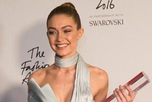 All hail the new queen: Gigi Hadid named international model of the year