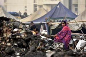 Rithala slum fire: Dwellers trying to pick up broken pieces of life