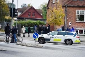 Security heightened in Denmark after officer shot at police station