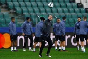 Zinedine Zidane promises Real Madrid will not relax against Borussia...