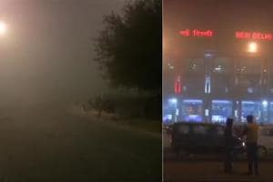 Dense fog continued to envelop the national capital on Wednesday with...